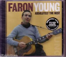 FARON YOUNG Absolutely the Best 2003 Brand New Oop CD 50s & 60s Country 14 Hits