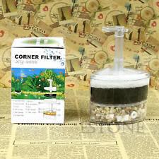 New Biochemical Air Corner Sponge Driven Filter Fry Shrimp Aquarium Fish Tank