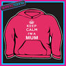 KEEP CALM I'M A MUM MOTHER ADULTS LADIES HOODIE HOODY GIFT