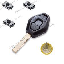 DIY Repair KIT for BMW 3 button remote key HU92 blade 3 5 7 X3 X5 Z4 E38 E39 E46