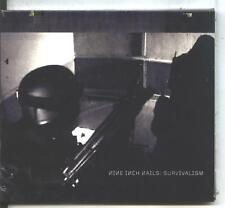 nine inch nails -survivalism  import CD RARE  razor new