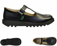 Chaussures noirs Kickers pour fille de 2 à 16 ans