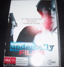 Underbelly files (Infiltration / Tell Them Lucifer) (Aust Reg 4) 3 DVD – New