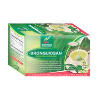 Bronquiosan Bronquial Aid Blend Natural Herbal Tea (25 Tea Bags) Eucalyptus