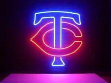 "New Minnesota Twins Neon Light Sign 17""x14"""