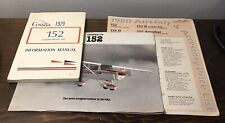 1979 Cessna Model 152 Information Manual, 1980  Price List