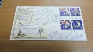 FDC: Australian Bicentenary 1988: Signed by 16 Australian Team