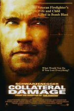 COLLATERAL DAMAGE MOVIE POSTER 2 Sided ORIGINAL 27x40 ARNOLD SCHWARZENEGGER