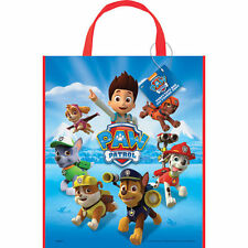 """Paw Patrol Dogs Puppies Loot Favors Party Tote Bag 11"""" x 13"""""""