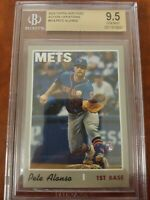 PETE ALONSO 2019 TOPPS HERITAGE #519 ACTION VAR. BGS GEM MINT 9.5 NY METS