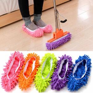 Staub Mop Hausschuhe Faul Boden Polierend Reinigung Socken Schuhe Student Secret