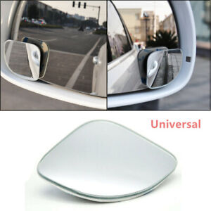 High Definition Left and Right Side Fan-shaped Blind Spot Wide-view Mirrors 2X