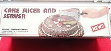 Vintage Cake Slicer And Server~Stainless Steel~NOS~New In Box