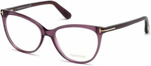 Tom Ford Designer Reading Eye Glasses FT5513-081 in Violet 54mm