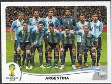 PANINI STICKER - FIFA - WORLD CUP 2014 - No 413 -  TEAM - ARGENTINA