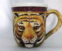 Vintage Kings Island Amusement Park Ohio Ceramic Mug Souvenir Cup Enesco