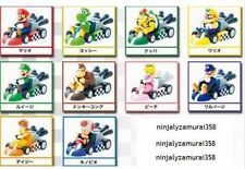Nintendo official Mario Kart Wii Pull back Car figure set of 10 Authentic