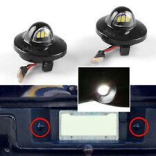 1Pair LED Rear License Plate Light for Ford F-150 Ranger Raptor Explorer 3-SMD