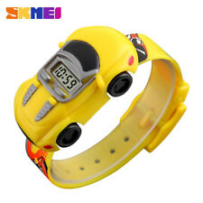 SKMEI Kids Watch Boys Fashion Cute Gift Child Cartoon Car Electronic Wristwatch