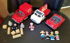Bulk Lot 01 - OH PENNY - BEETLE CABRIOLET POST OFFICE VAN, DAIRY DELIVERY TRUCK