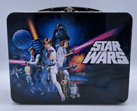 Classic STAR WARS: A NEW HOPE Large Tin Tote / Metal Lunch Box