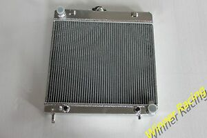 Aluminum Radiator Fit Mercedes Benz S-Class W126 280S 78-85 / W123 1976-1985 AT