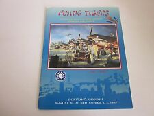 American Volunteer Group Flying Tigers September 1995  Program