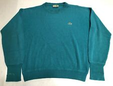 Vintage 80s Chemise Lacoste Knitted Sweater Size L
