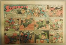 Superman Sunday Page #192 by Siegel & Shuster from 7/4/1943 Half Page:Year #4!