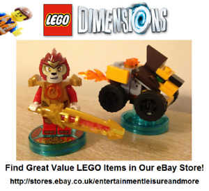 Genuine LEGO Dimensions Chima Laval Fun Pack 71222 (All Formats) Trusted Seller