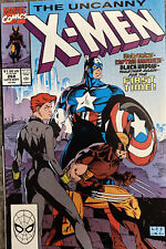 Uncanny X-men #268 Jim Lee Wolverine Black Widow Captain America Key