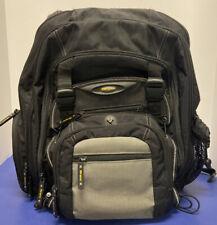 "Targus Metro15.6"" laptop BackPack  for laptop, accsesories, padded 14 Pockets"