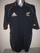 NUOVA Zelanda Rugby Maglia Jersey ADIDAS ADULTI XL All Blacks KIT TOP