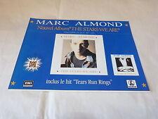 MARC ALMOND - Petite Publicité de magazine / Advert THE STARS WE ARE !!!!!!!