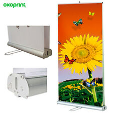 "Double Sided Reatractable Roll Up 39x79"" Displays Banner Stand Printing Included"