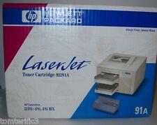 HP 91A Black Toner Cartridge 92291A,for HP Laserjet IIISI,4si,4SIMX