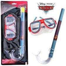 Disney CARS Schnorchelset Kinder Tauchmaske Schnorchel Taucherbrille Tauchset