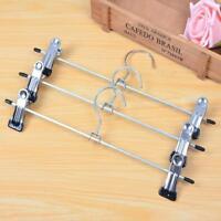 4Pcs 30cm/300mm Stainless Steel Clip Hangers for Clothes Coat Trouser Skirt