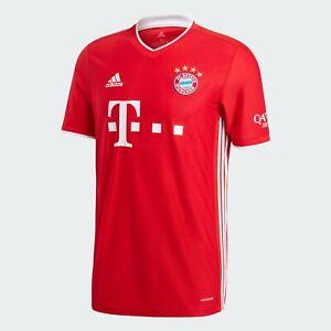 adidas FC Bayern München Heimtrikot Jersey 2020/2021 Herren Kinder FR8358-FI6201