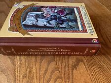 LEMONY SNICKETS A SERIES OF UNFORTUNATE EVENTS THE PERILOUS PARLOR GAME - EUC