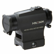 Holosun HS515CU Red Dot and Circle Dot Sight (Black Housing)