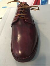 N Tuzeck Shell Cordovan Leather And Sole. Handmade Rare England Uk10-Us 10.5