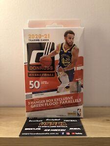 2020-21 PANINI DONRUSS BASKETBALL NBA HANGER BOX - 50 CARDS - NEW