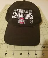 OHIO STATE 2014 National Champions Blk slouch cap adjustable. pre owned