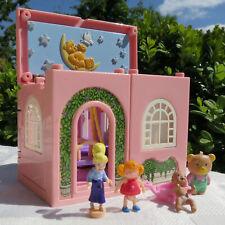 Polly Pocket Dream Builders Nursery Babyzimmer Schaukel, Wanne, Wippe