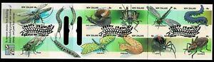 New Zealand 1997 Creepy Crawlies Booklet