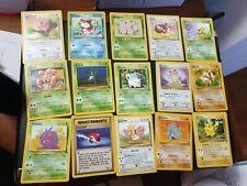 Lotto Carte Pokemon Set Fossil e Jungle quasi Completo comuni NM ita