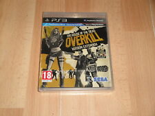 THE HOUSE OF THE DEAD OVERKILL + 3D GAFAS DE SEGA PARA SONY PS3 NUEVO PRECINTADO