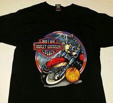 Vintage 1997 Harley Davidson Biketoberfest Daytona Beach Fl Mens Med Shirt