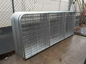 Heavy Duty Vertical Brace Farm Gates and gate hinge